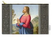 Christ At Gethsemane Carry-all Pouch