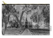 Christ Church Etching Carry-all Pouch by Debra and Dave Vanderlaan
