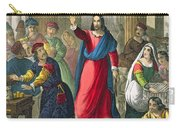 Christ Cleanses The Temple Carry-all Pouch
