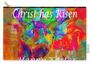 Christ Has Risen Happy Easter Carry-all Pouch
