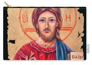 Christ Icon Fresco Carry-all Pouch
