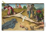 Christ Nailed To The Cross Carry-all Pouch