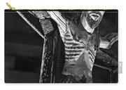 Christ Of Salardu - Bw Carry-all Pouch
