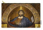 Christ Pantocrator Mosaic Carry-all Pouch by RicardMN Photography