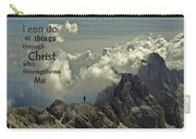 Christ Strengthens Me Carry-all Pouch