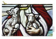 Christ The Good Shepherd With His Flock Carry-all Pouch