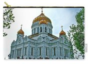 Christ The Savior Cathedral In Moscow-russia Carry-all Pouch
