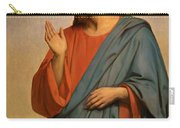 Christ Weeping Over Jerusalem Ary Scheffer Carry-all Pouch