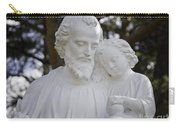 Christ With A Child Carry-all Pouch