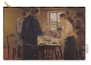 Christ With The Peasants Carry-all Pouch by Fritz von Uhde