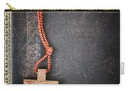 Christian Cross On Bible Carry-all Pouch by Elena Elisseeva