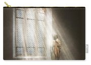 Christian - Heavenly Father Carry-all Pouch by Mike Savad