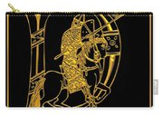 Christian Initial Letter D Carry-all Pouch