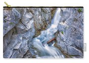 Christine Falls In Mount Rainier National Park Carry-all Pouch