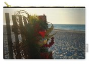 Christmas At The Beach Carry-all Pouch
