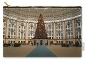 Christmas At West Baden Carry-all Pouch by Sandy Keeton