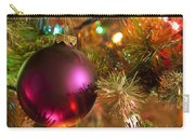 Christmas Ball Ornament Purple 1 Carry-all Pouch