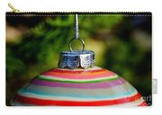 Christmas Ball Top Carry-all Pouch