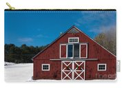 Christmas Barn Carry-all Pouch by Edward Fielding
