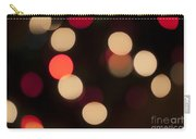 Christmas Bokeh Lights Carry-all Pouch