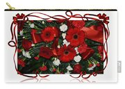 Christmas Bouquet  Carry-all Pouch