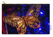 Christmas Butterfly Carry-all Pouch
