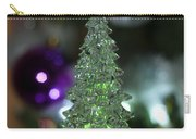 A Christmas Crystal Tree In Green  Carry-all Pouch
