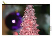 A Christmas Crystal Tree In Pink  Carry-all Pouch