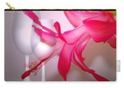 Christmas Cactus And Two Glasses Carry-all Pouch