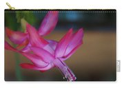 Christmas Cactus Bloom Carry-all Pouch