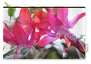 Christmas Cactus Schlumbergera Carry-all Pouch