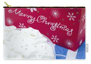 Christmas Cake Carry-all Pouch by Anne Gilbert