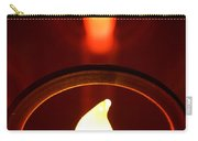 Christmas Candle Reflection Carry-all Pouch