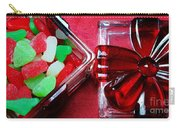 Christmas Candy - Candy Dish - Sweets - Treats Carry-all Pouch