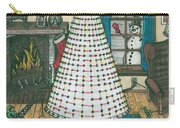 Christmas Card Drawing Carry-all Pouch