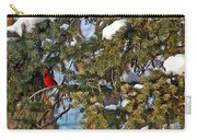 Christmas Cardinal Carry-all Pouch