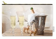 Christmas Champagne Carry-all Pouch