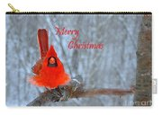 Christmas Red Cardinal Carry-all Pouch