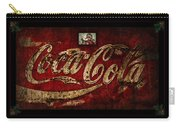 Christmas Coca Cola 1881 Santa Carry-all Pouch
