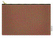 Christmas Colors Chevron Carry-all Pouch