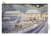 Christmas Corral Carry-all Pouch