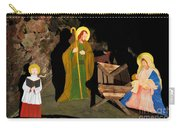 Christmas Crib Scene Carry-all Pouch