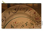 Christmas Dinnerware Carry-all Pouch