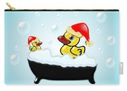 Christmas Ducks Carry-all Pouch