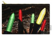 Christmas Festive In New York City Carry-all Pouch
