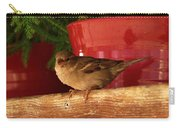 Christmas Finch Carry-all Pouch