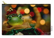 Christmas Frog Carry-all Pouch