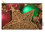 Christmas Gold Star Carry-all Pouch