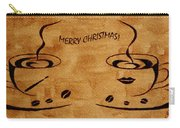Christmas Greeting Carry-all Pouch