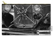Christmas Grillwork - Bw Carry-all Pouch
